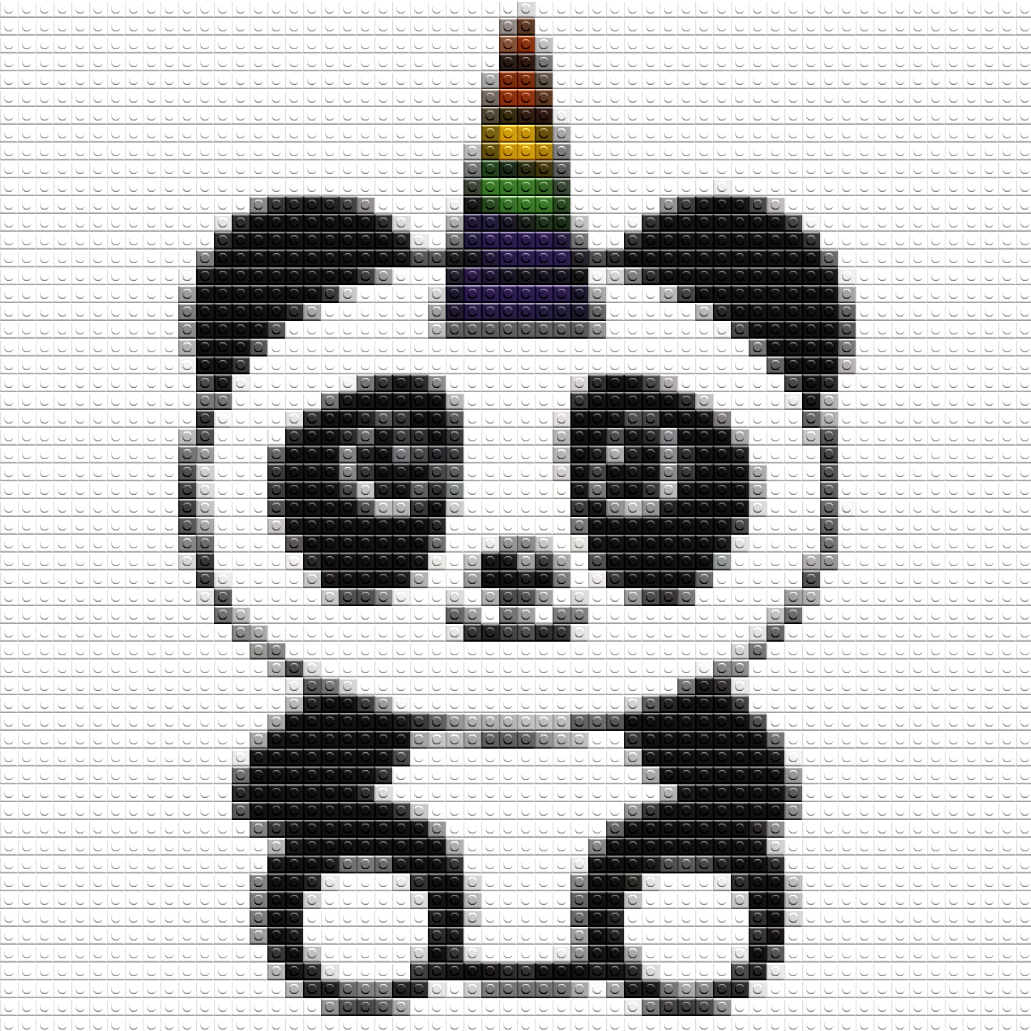 little panda unicorn